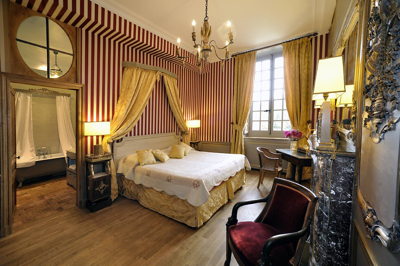 prestige room in a castle